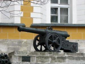 какой раньше была артиллерия