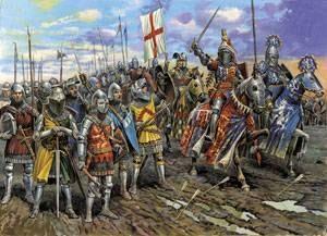 как раньше воевали англия и франция