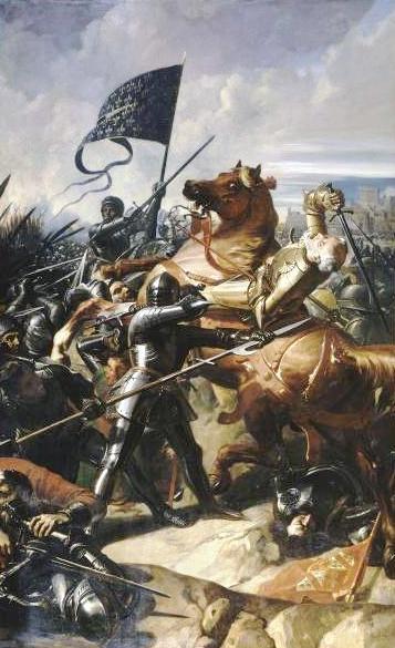 какая битва была последней в столетней войне