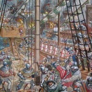 какие были битвы в столетнюю войну