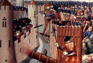 когда был критический момент столетней войны