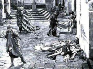 как чума истребляла европейцев