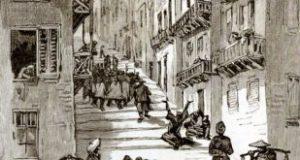 от чего была эпидемия чумы черной смерти