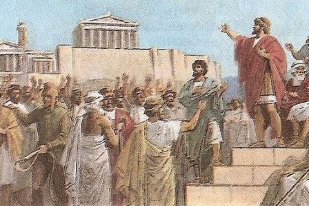 Демократия в афинах доклад 7439