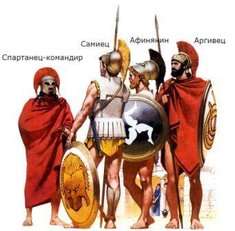 как греки воевали с персами