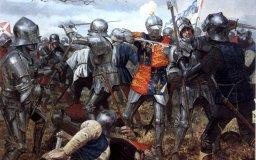 каковы основные события войны между ланкастерами и йорками алой и белой розы