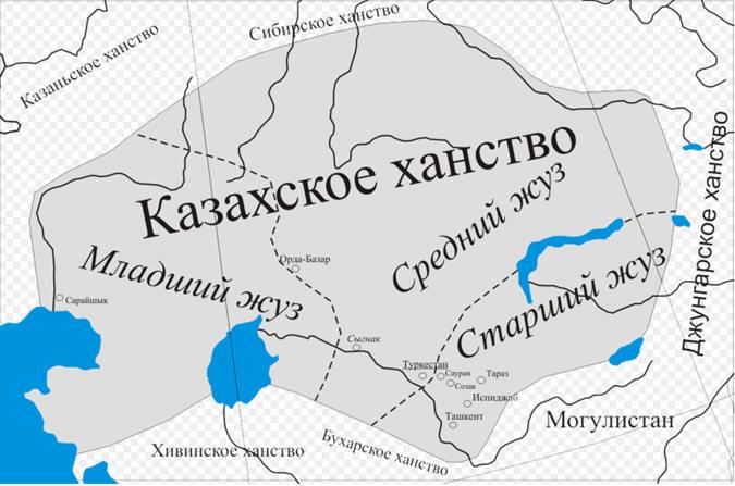 где было казахское ханство