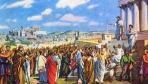 какой был общественный и политический строй в афинах