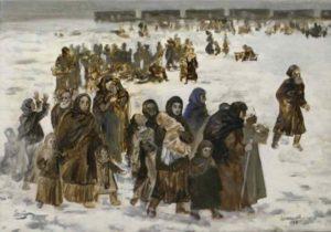 как депортировали чеченцев