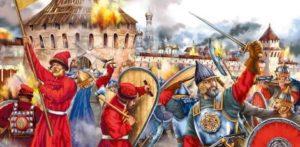 как россия оборонялась от поляков и литовцев