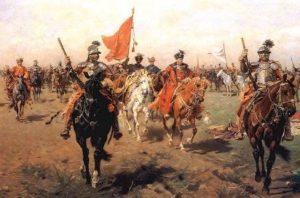 какой польский король объявил войну россии