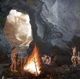 какой вид и какая культура людей стали первыми пользоваться огнем