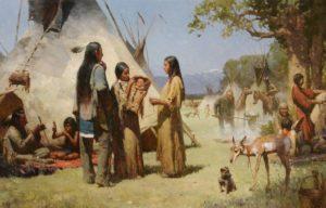 как жили индейцы