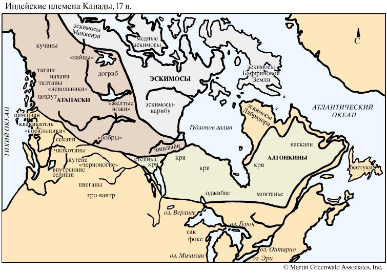 где какие индейцы живут в канаде