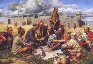почему индейцы и белые воевали