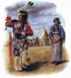 откуда происходят индейцы