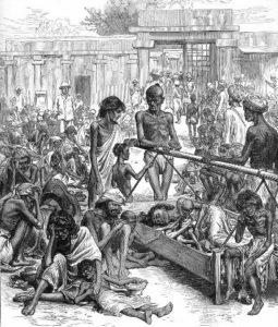 почему в Индии был голод