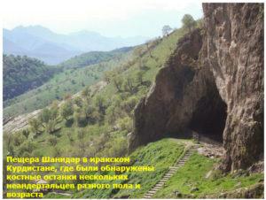 где были обнаружены останки неандертальцев