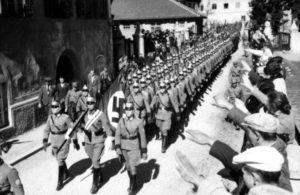 как австрийцы отнеслись к присоединению к германии