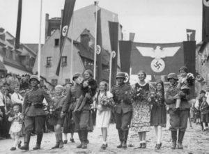 зачем германия присоединила судетскую область чехословакии