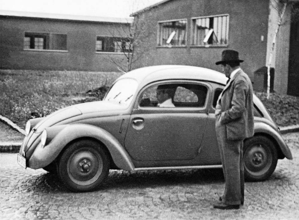 какой автомобиль появился при фашистах