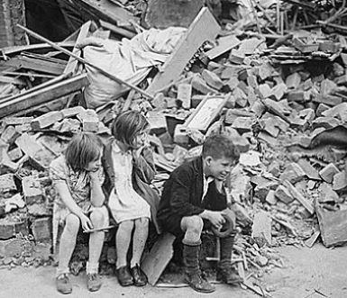 как выглядел лондон когда его бомбили
