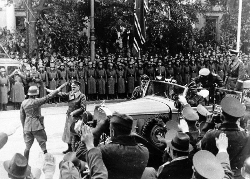 на какую страну германия напала первой во вторую мировую войну