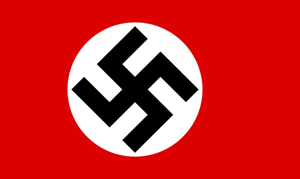 какой был государственный флаг германии во время гитлера