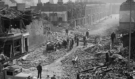 как великобритания пострадала от фашистской германии