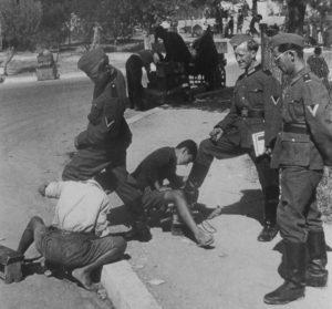 что было в греции во время оккупации странами оси