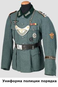 как выглядели полицейские в германии при фашистах