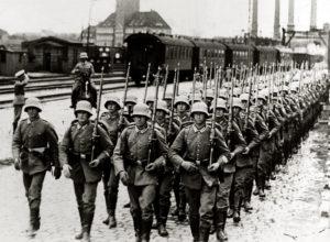 как вела себя германия перед второй мировой войной