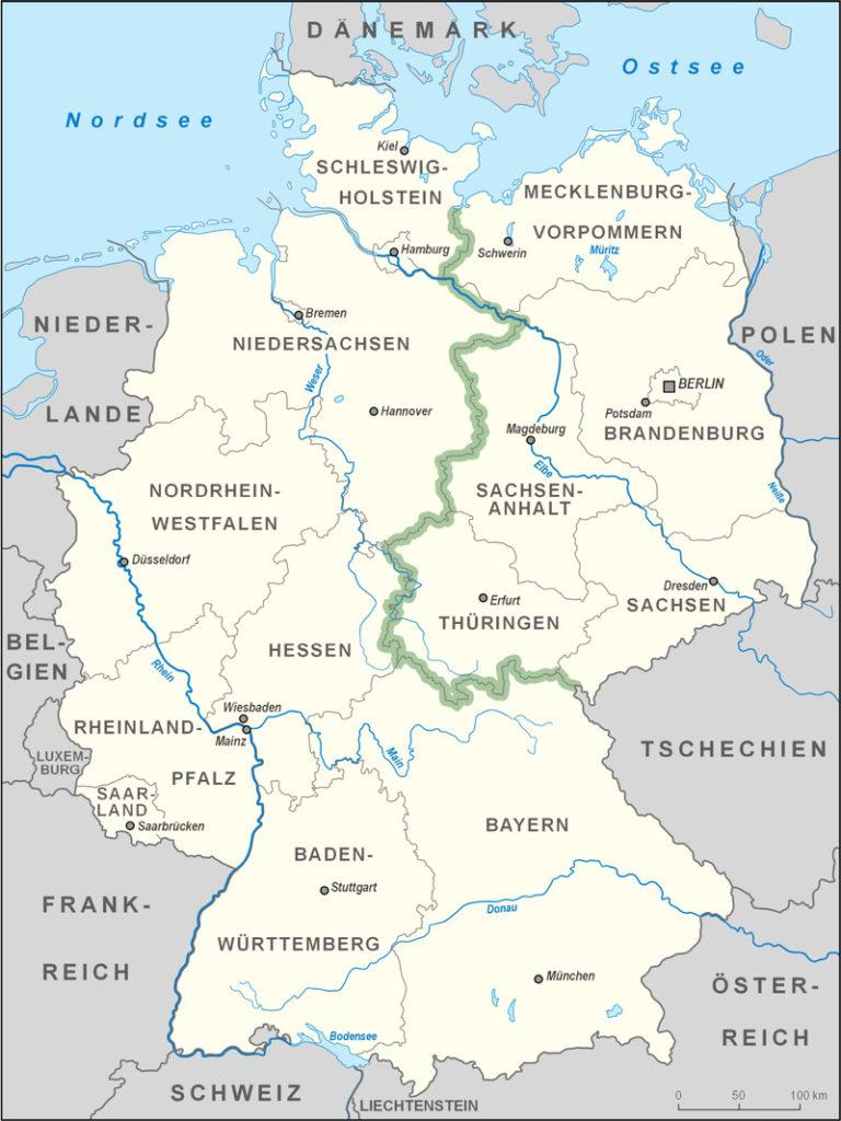 как германия была разделена на два государства