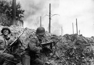 какое первое особенно сильное поражение понесла фашистская германия
