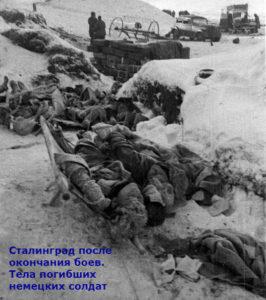 как гитлеровцы проиграли в сталинграде
