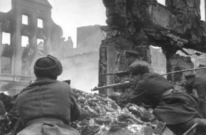 как советские войска антигитлеровской коалиции вступили на территорию германии