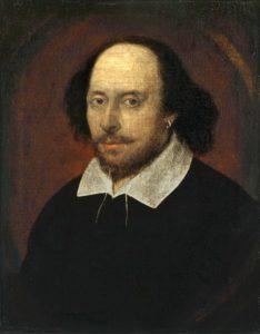 где Шекспир с серьгой