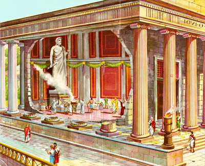 как выглядел римский храм