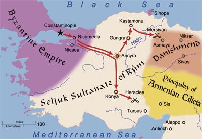 что такое конийский султанат