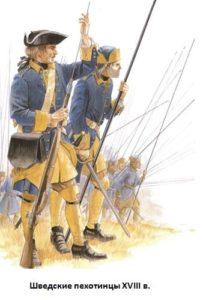 как выглядели шведские солдаты в восемнадцатом веке