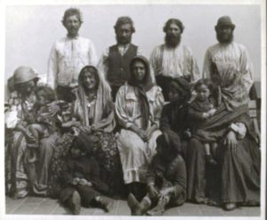 цыгане на острове Эллис