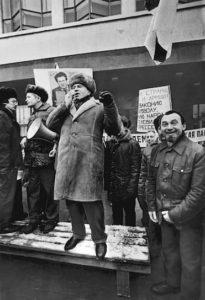 какой была политическая расстановка сил в россии начала 90 х годов