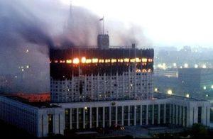 что за расстрел парламента был в 1993 году