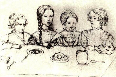 как пушкин воспитывал детей