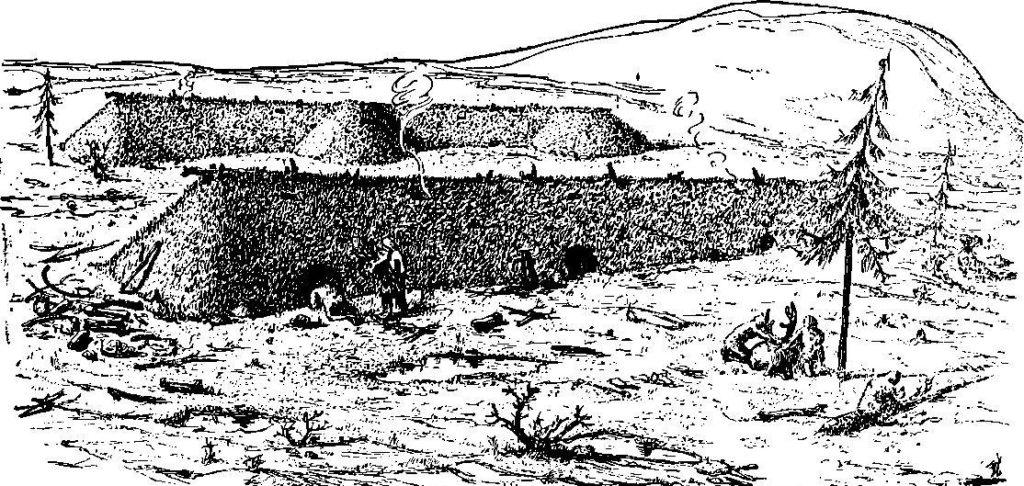 как выглядели поселения ориньякских людей